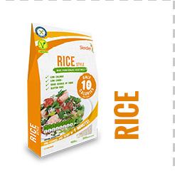 Bio Nízkokalorické Těstoviny Slendier - rice