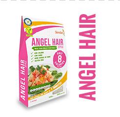 Bio Nízkokalorické Těstoviny Slendier - angel hair