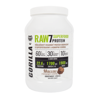 RAW7 SuperFood Protein 1 254 g - rostlinný protein