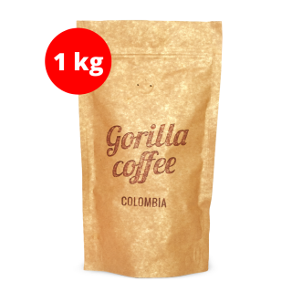 GORILLA Coffee Colombia Supremo 1 kg