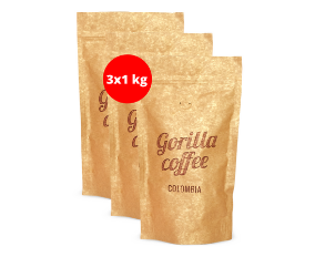 GORILLA Coffee Colombia Supremo 3 kg