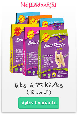 Slim Pasta Bio 200 g - Fettuccine 6 ks