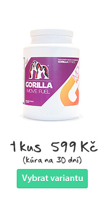 GORILLA MOVE Fuel - kloubní výživa drink 1ks