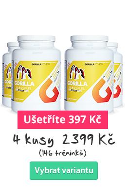 GORILLA AMINO Fuel - aminokyselinový drink 4 ks - ušetřete s množstevní slevou