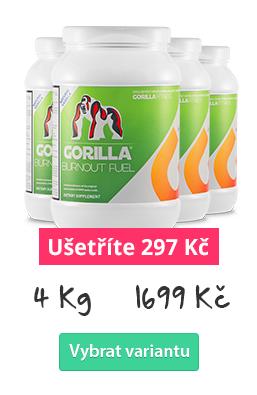 GORILLA Burnout Fuel 4 kg - ušetřete s množstevní slevou